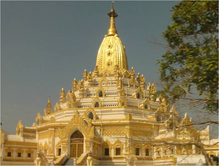 Bảo tháp ở Myanmar