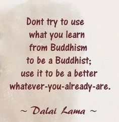 đừng trở thành một vị Phật (5)