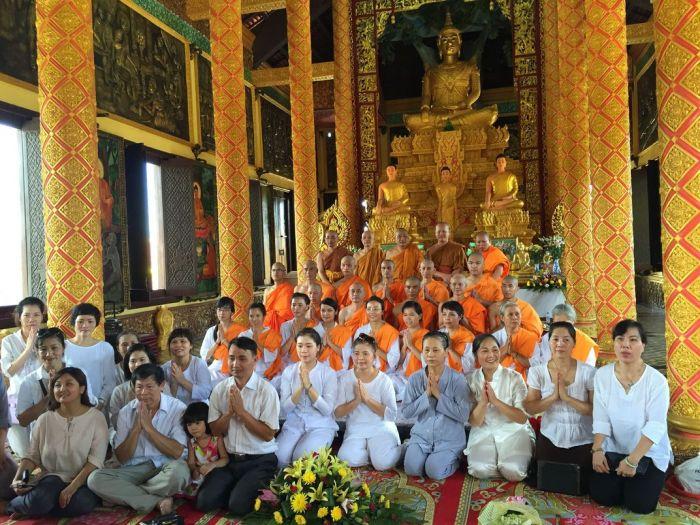 Le xuat gia gieo duyen chua Kleng Hanoi 39