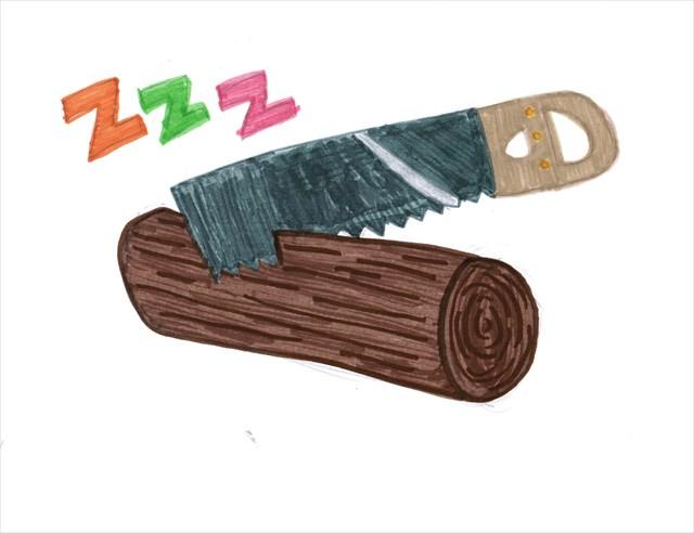 lưỡi cưa với thân cây gỗ như hơi thở với đầu mũi 1